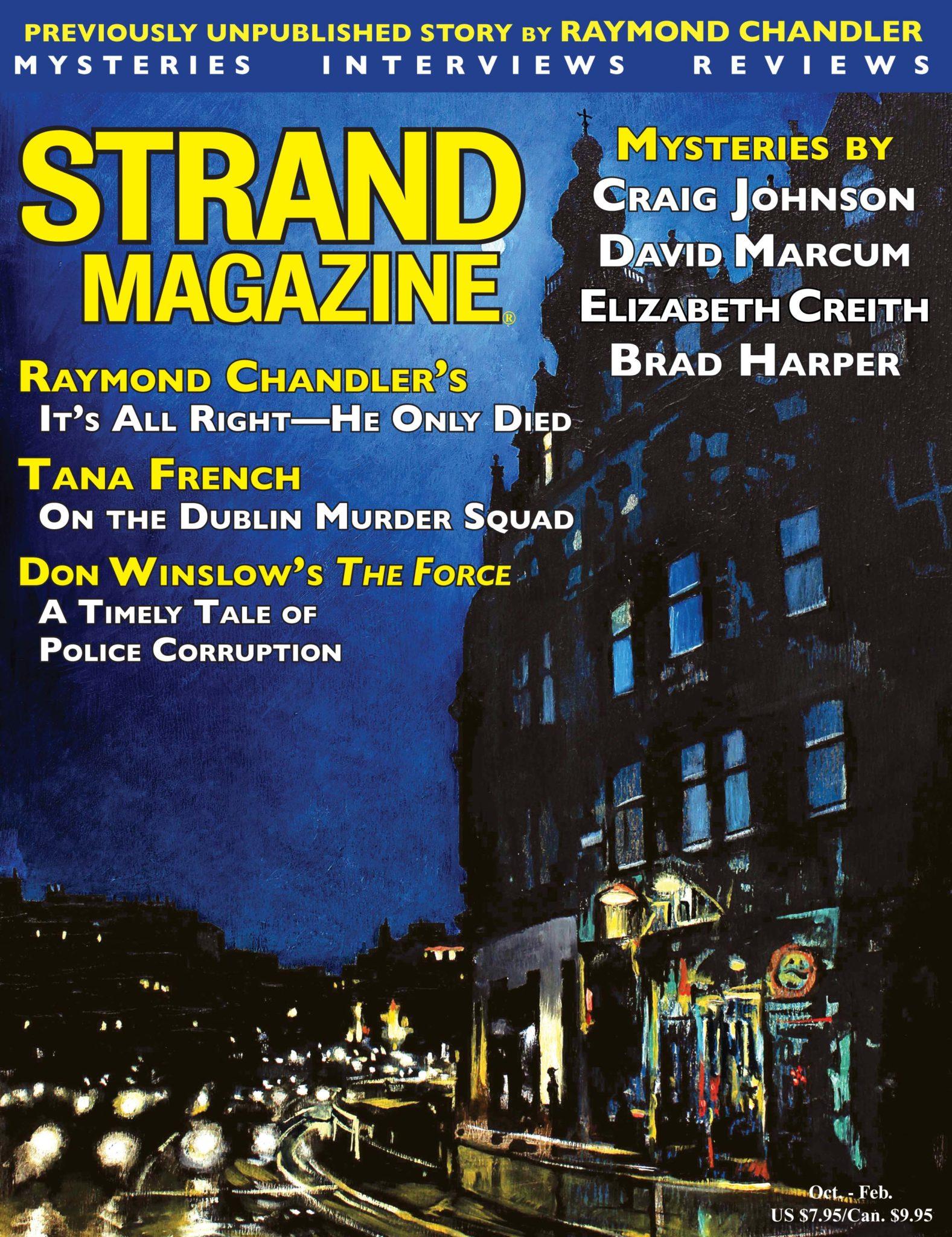 Unpublished Raymond Chandler Story