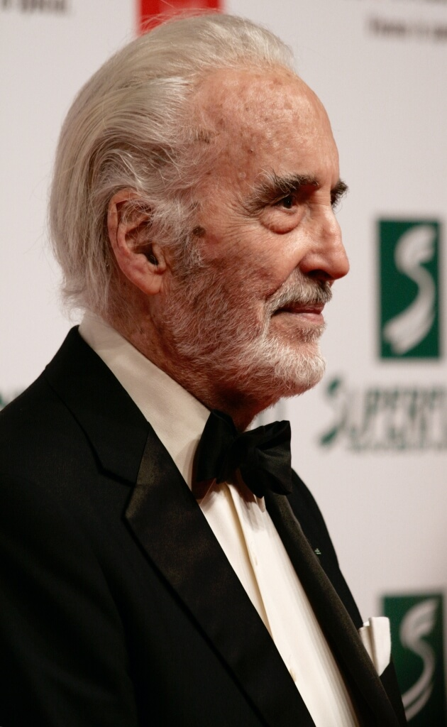 Christopher Lee at the Women's World Awards 2009 in Vienna, Austria