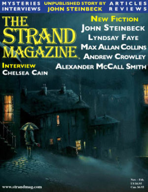Holiday issue of the Strand with the unpublished John Steinbeck story