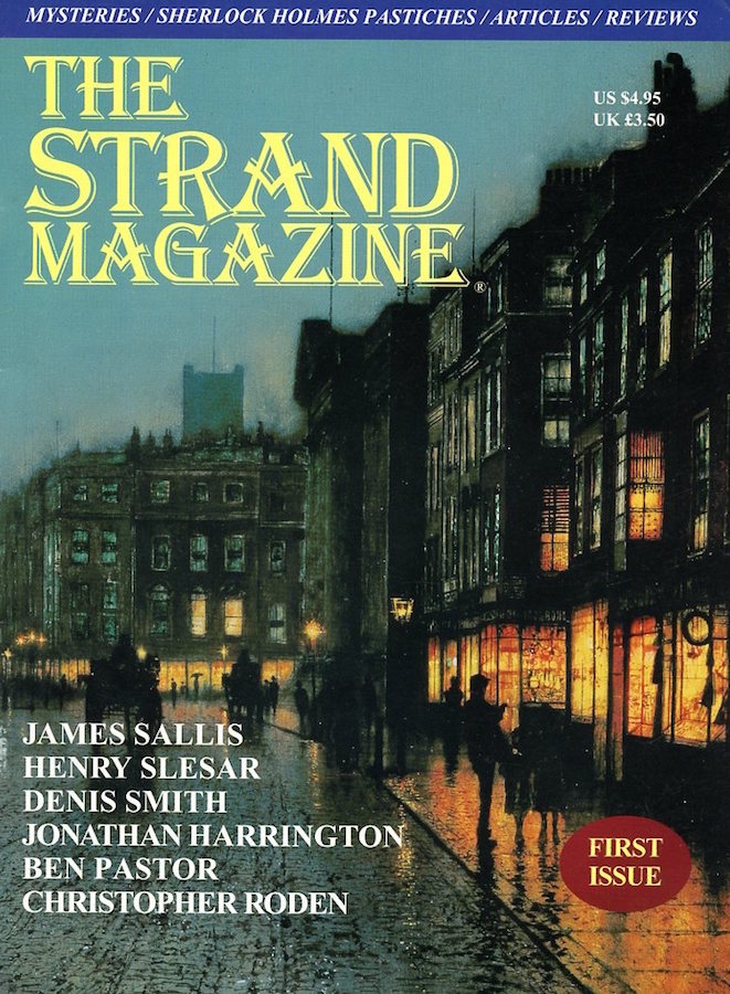 The first issue of the Strand Magazine