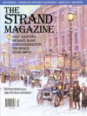 Strand magazine interview with Ustinov