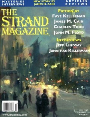 Strand Magazine with an unpublished James M. Cain story