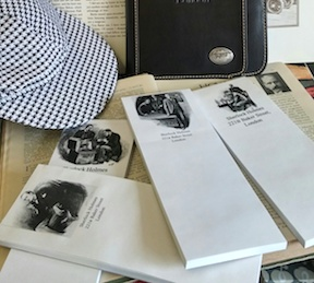 Sherlock Holmes Notepads...Combo Package
