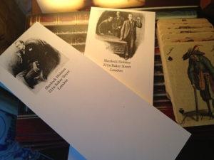 Sherlock Holmes Notepads: Set Two