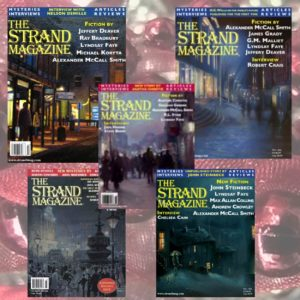 Set of Five Christmas Issues of the Strand