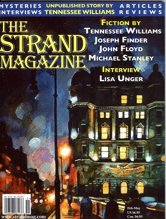 "Issue 42: Fiction by Tennessee Williams (""Crazy Night"") and Joseph Finder"