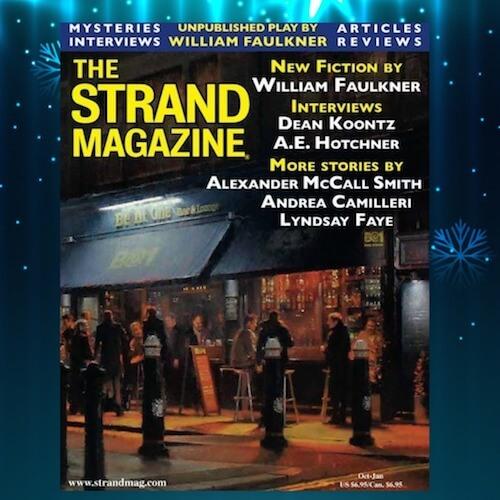 Strand Mystery Magazine /William Faulkner unpublished play