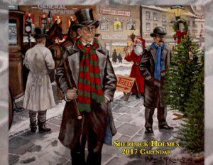 Sherlock Holmes Calendar – 2017
