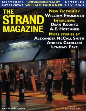 Unpublished William Faulkner in the Strand Magazine