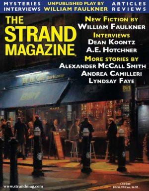 Unpublished William Faulkner in the Strand Magazine