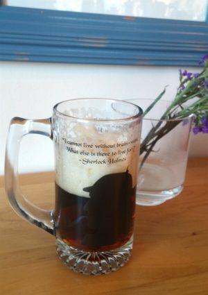 Sherlock Beer Mug