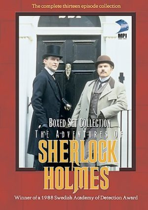 adventure of sherlock dvd