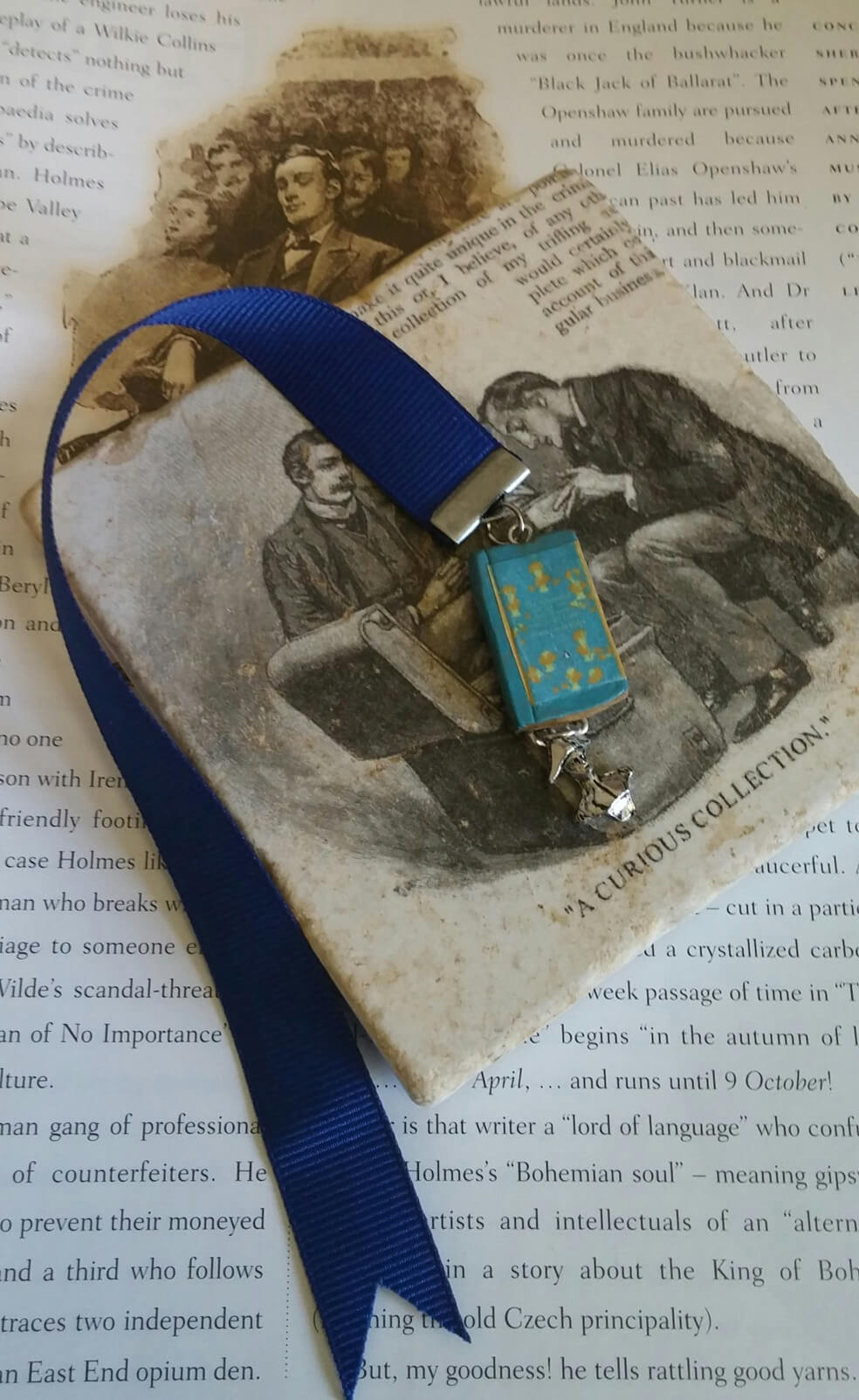 adventure of the six napoleons bookmark