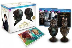 complete sherlock with statues