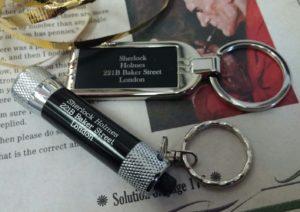 Sherlock Holmes Keyring