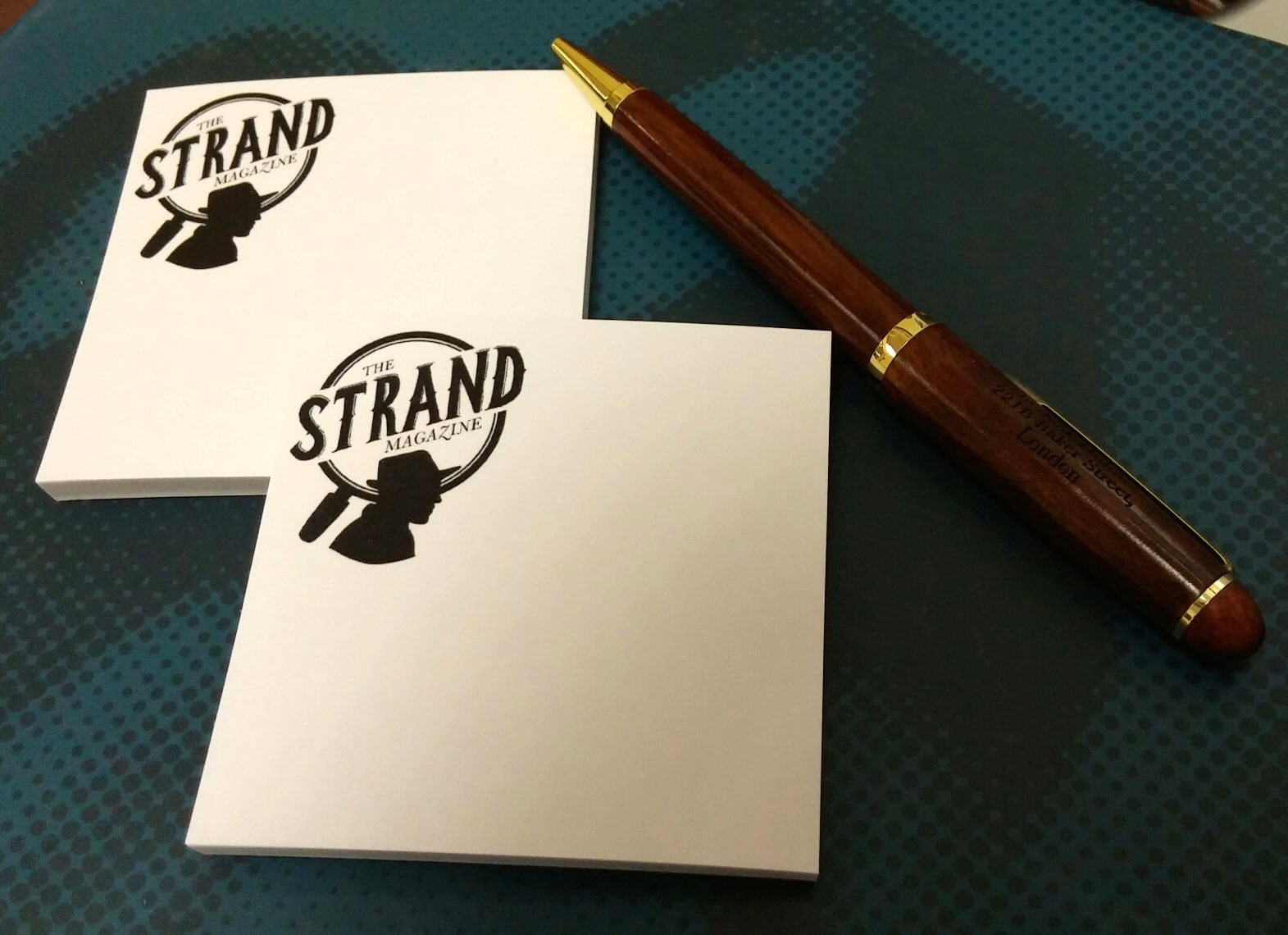 Strand Magazine Sticky Notes (set of two)