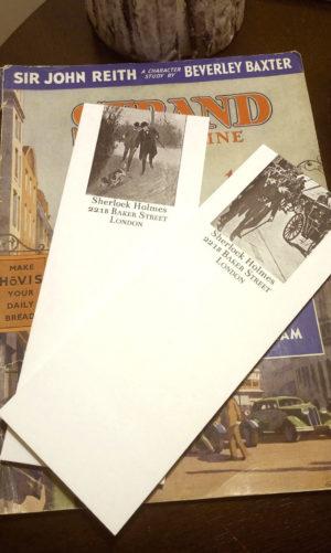 Sherlock Holmes Notepads Hound of the Baskervilles Set III