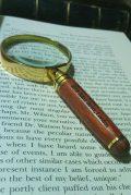 sherlock magnifier close-up