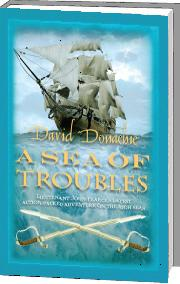 A Sea of Troubles by David Donachie (Hardcover)