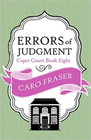 Errors of Judgment by Caro Fraser Fiction (Hardback)