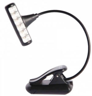 Hammerhead book light black