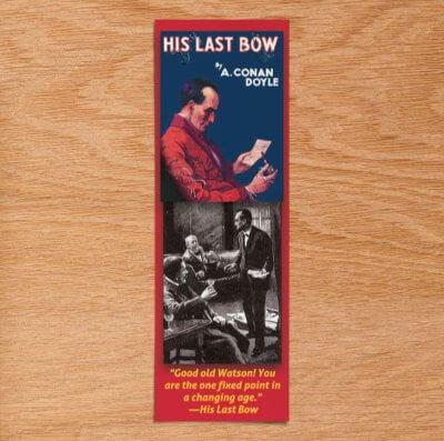 his last bow bookmark