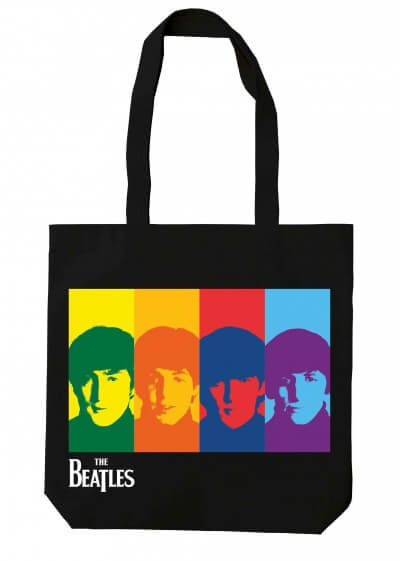 The Beatles Collection Tote Bag