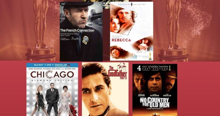 Top Ten Crime Films that won the Oscar For Best Picture