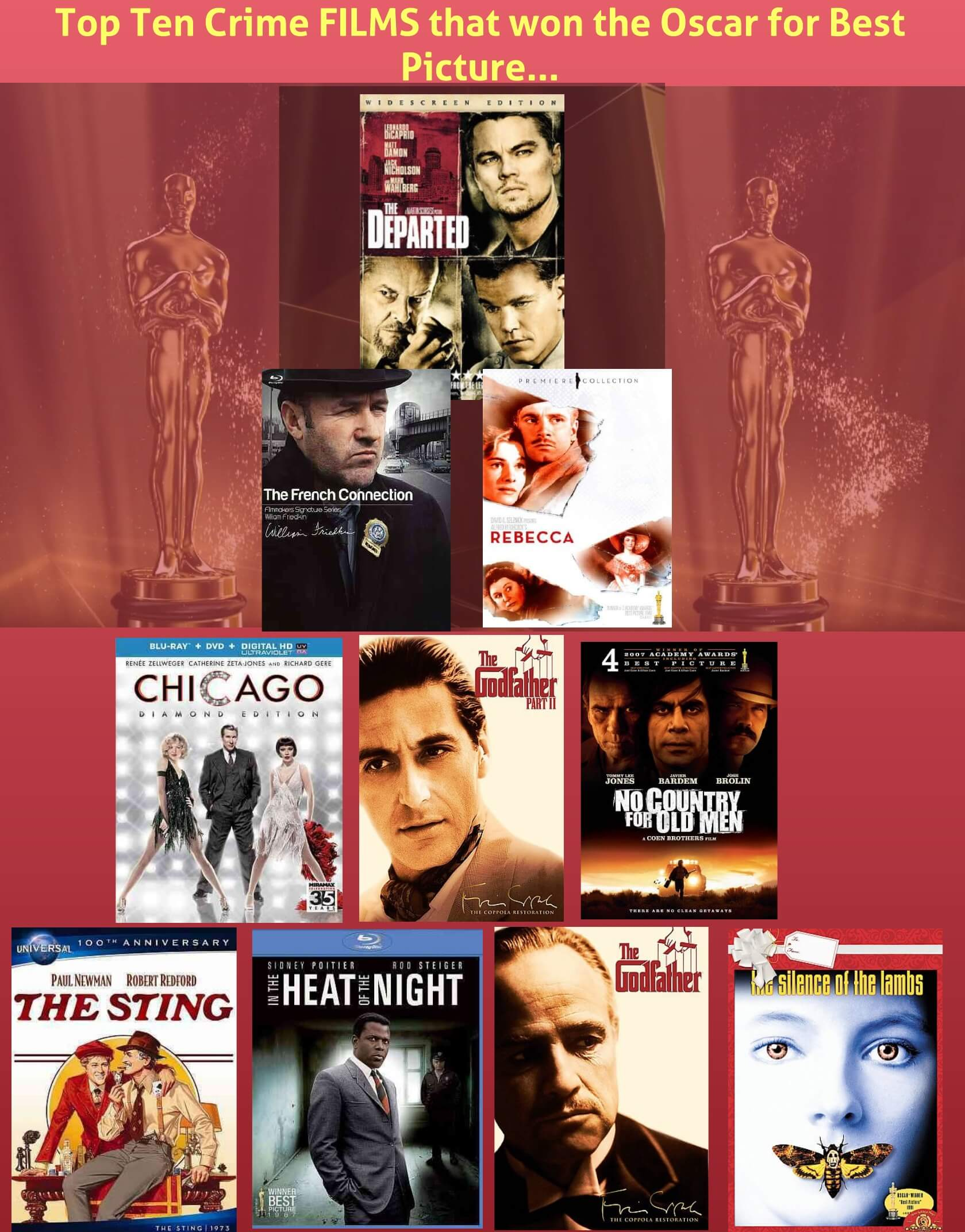 Top Ten Films that won the Oscar for best picture-2