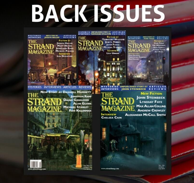 Strand Mystery magazine back isssues