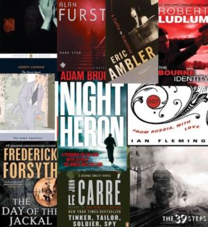 Top Ten Spy Novels Box Set