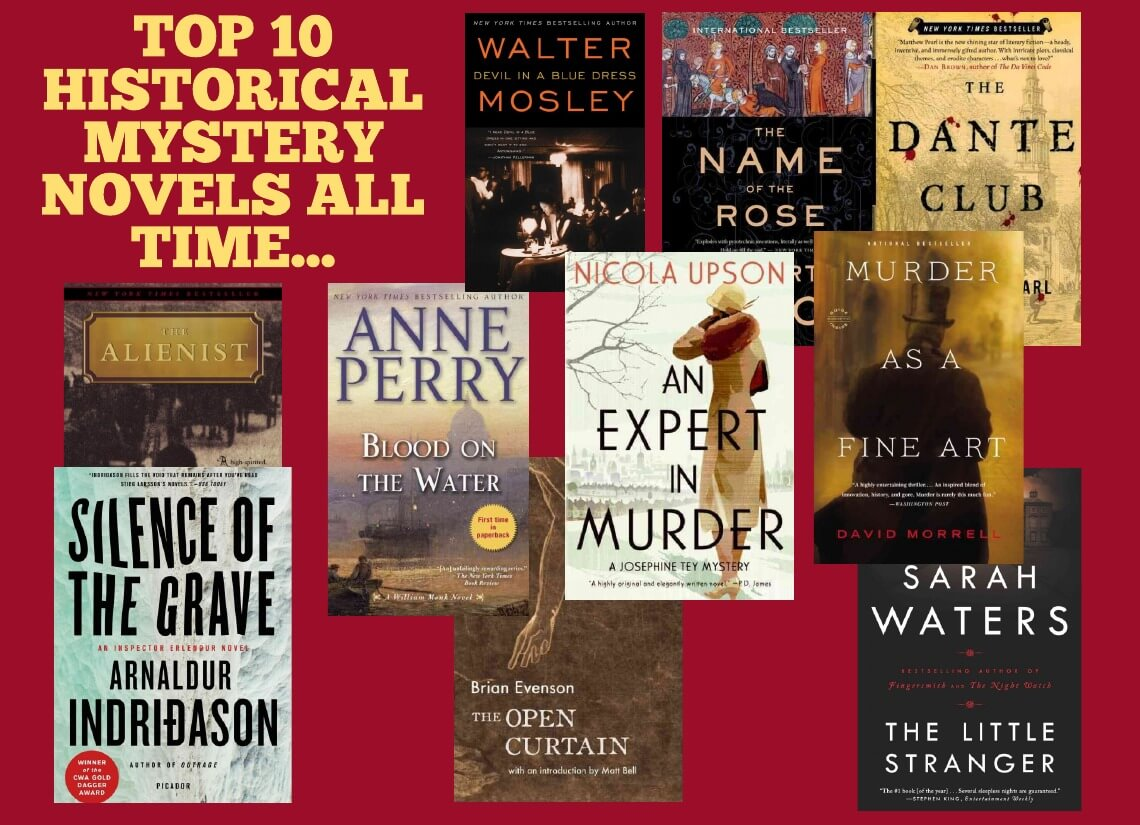 10 Best Mystery Books of All Time - FAMOUS AUTHORS