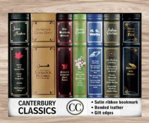 Canterbury Classic Box Set, works by Poe, Doyle, Verne, and much more...