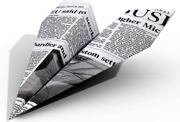 newspaper secondary research