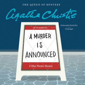 A Murder Is Announced (Miss Marple Series, Book 4) Audio CD