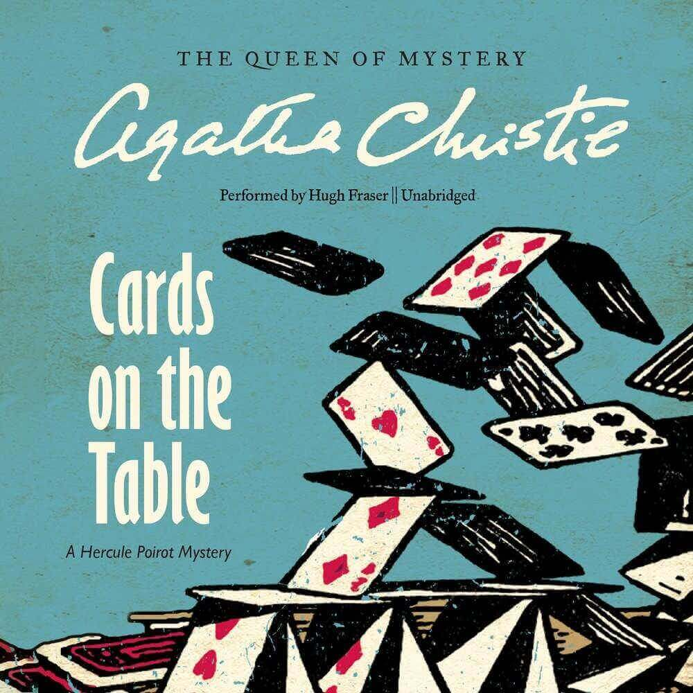 Cards on the Table: A Hercule Poirot Mystery (Hercule Poirot Mysteries, Book 13) Audio CD