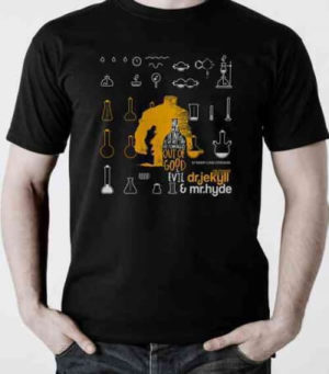 Dr. Jekyll & Mr. Hyde T-shirt, Medium