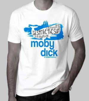 Moby Dick T-shirt, Large
