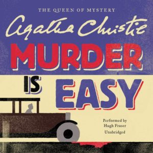 Murder Is Easy Audio CD – Abridged,