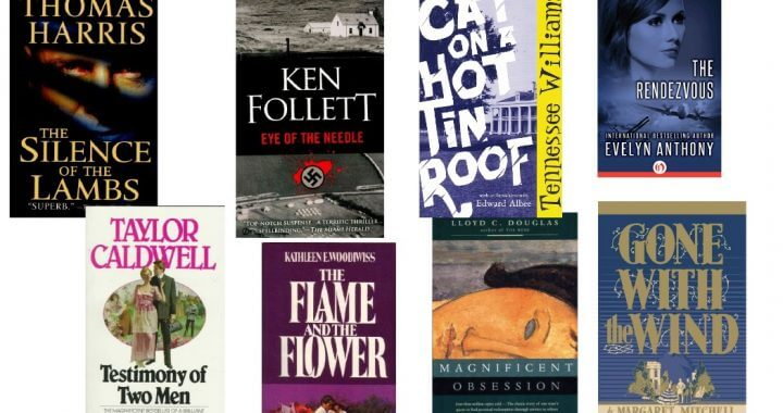 """Sandra Brown,""""These eight books influenced me to become a writer."""""""