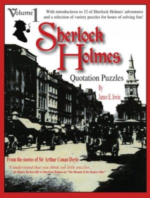 Sherlock Holmes Quotation Puzzles