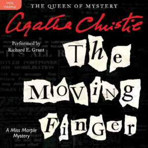 The Moving Finger: Library Edition (Miss Marple) Audio CD