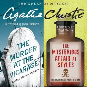The Murder at the Vicarage & The Mysterious Affair at Styles (The First Miss Marple Mystery -and- The First Hercule Poirot Mystery) (Hercule Poirot Mysteries) Audio CD