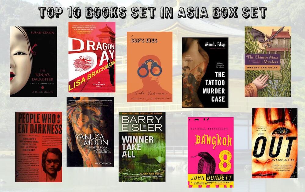 Top Ten Books Set in Asia Box Set