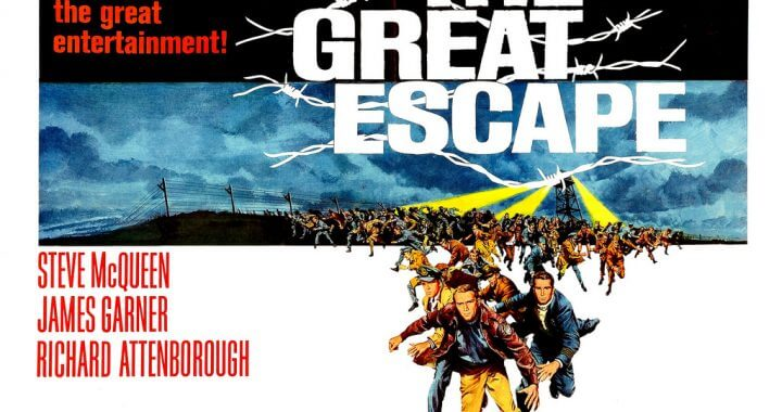 Top Ten Great Escapes in Novels and Films...