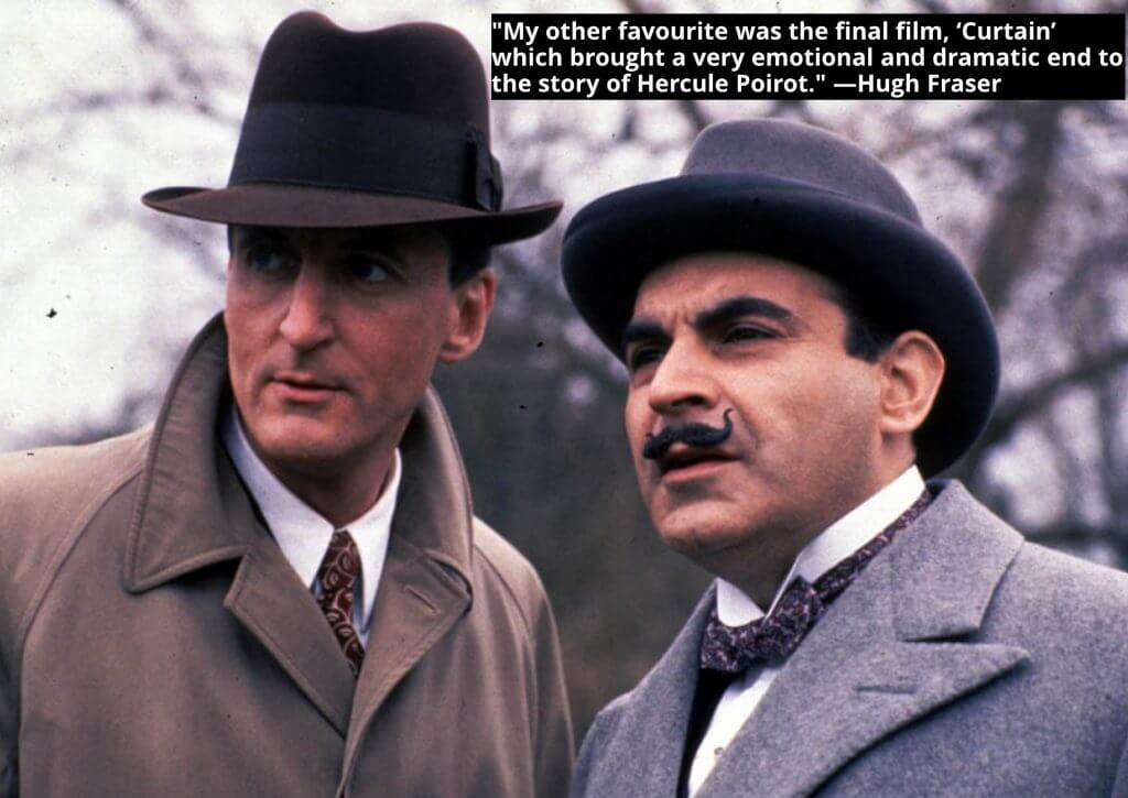 Exclusive Interview: Hugh Fraser on playing Captain Hastings, Poirot, and Mysteries...