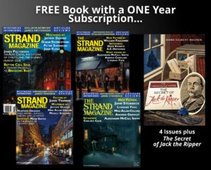 One Year Subscription Plus a free copy The Secret of Jack the Ripper