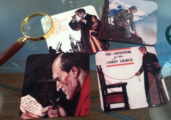 Full Color Sherlock Holmes coasters