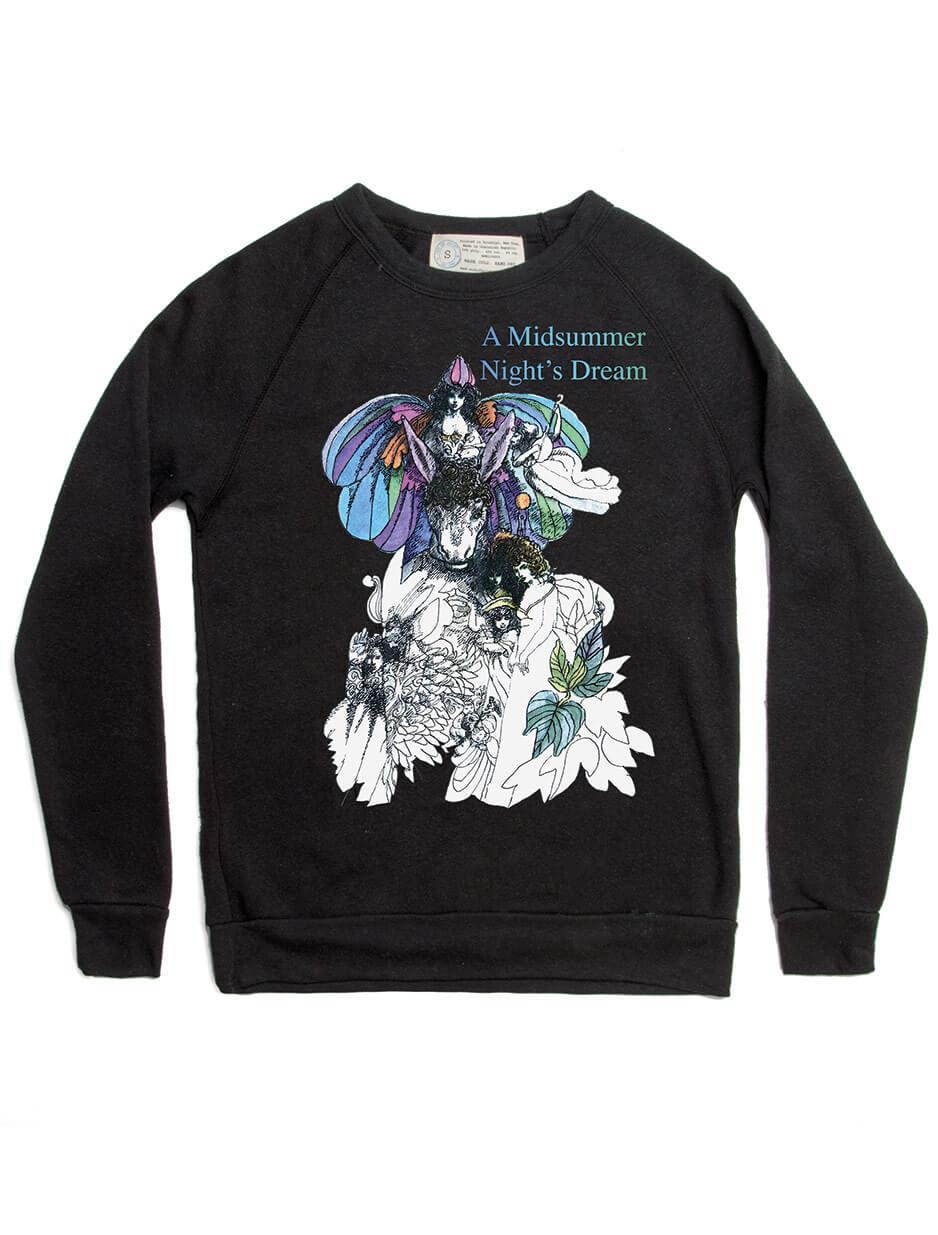 A Midsummer Night's Fleece Sweatshirt