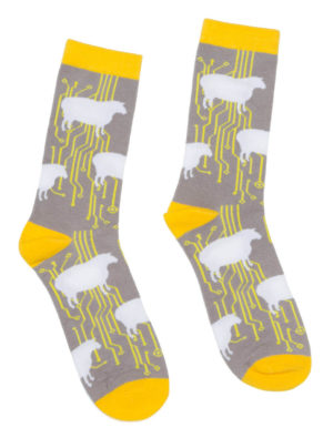 DO ANDROIDS DREAM OF ELECTRIC SHEEP? SOCKS